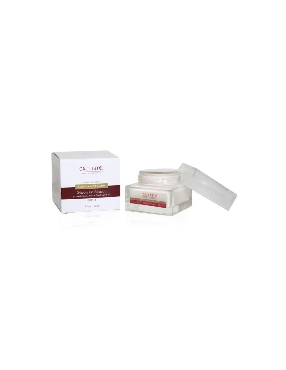 Callisto 24h Moisturizing Cream With Snail Spf15 50ml Secretion Filtrate Moisture Facial 30 Ml Tap To Zoom