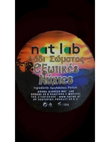 NAT LAB Body cream Exotic nights 120 ml