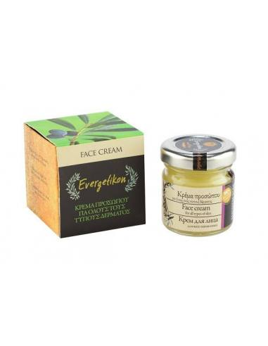 EVERGETIKON Face cream with olive oil...
