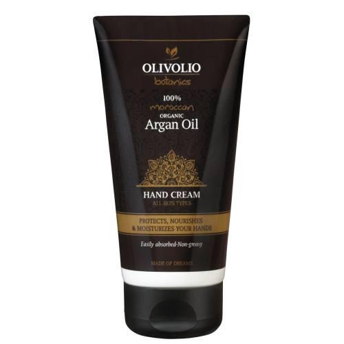OLIVOLIO Ενυδατική κρέμα χεριών με Βιολογικό Argan Oil & Ελαιόλαδο 150ml Olivolio