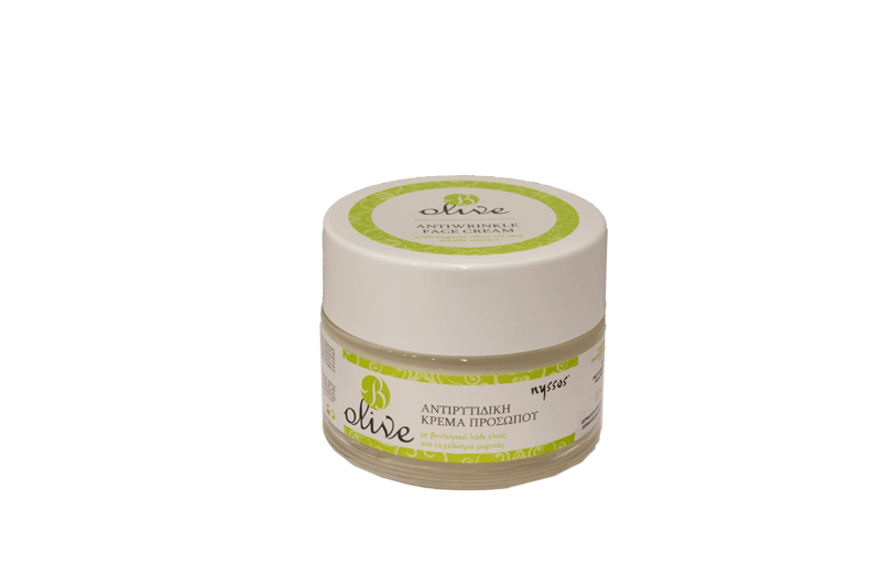 NYSSOS B Olive Αντιρυτιδική κρέμα προσώπου 50ml Nyssos