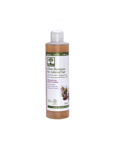 Bioselect Olive Shampoo for Colored...