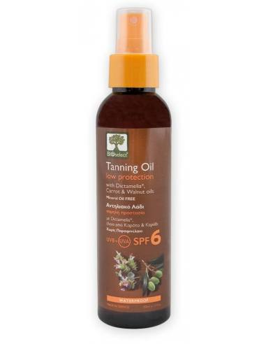 Bioselect Tanning Oil Low Protection...