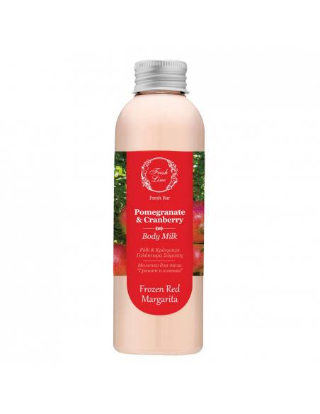 pomegranate body milk fresh line