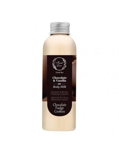 body milk chocolate fresh line