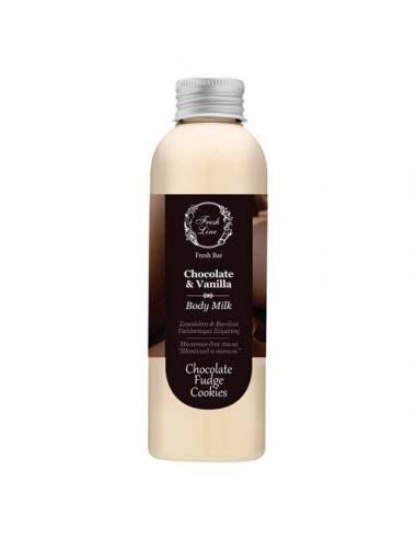 chocolate body milk fresh line