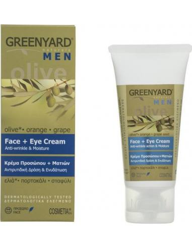 GREENYARD Face+Eye Cream for Men with...