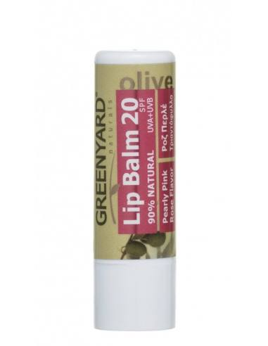 GREENYARD Lip balm with Olive and Rose
