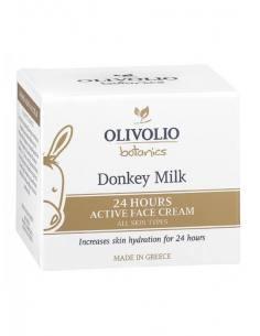 Olivolio 24ωρη Κρέμα Προσώπου με Γάλα Γαϊδούρας