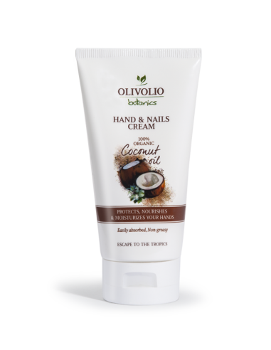 Olivolio Coconut Κρέμα χεριών & Νυχιών με Λάδι Καρύδας