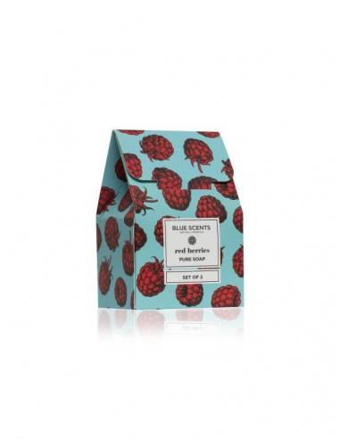 Blue Scents Soap Set of 2 Red Berries...