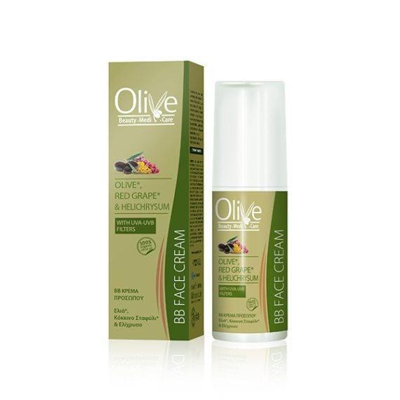 Olive Beauty Medicare ΚΡΕΜΑ ΠΡΟΣΩΠΟΥ BB 50ml Olive Beauty MediCare