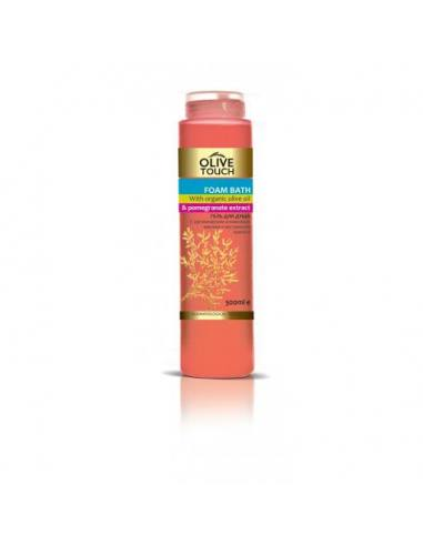 Olive Touch Shower Gel With Organic Olive Oil & Pomegranate Extract