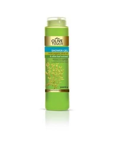 Olive Touch Гель Для Душа С Органическим Оливковым Маслом И Экстрактом Оливковых Листьев