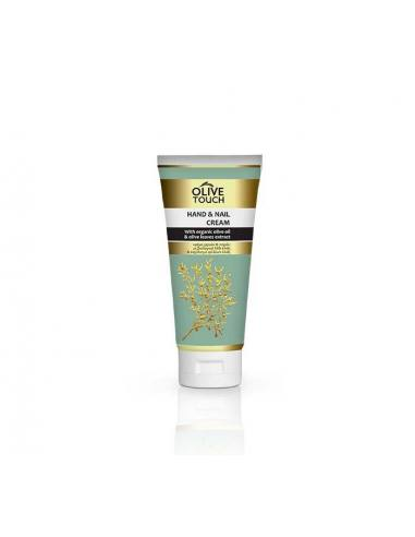 Olive Touch Hand & Nail Cream with Organic Olive Oil and Olive Leaf extract