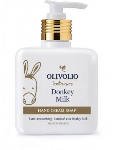 Olivolio Καθαριστικό Χεριών με Γάλα Γαϊδούρας