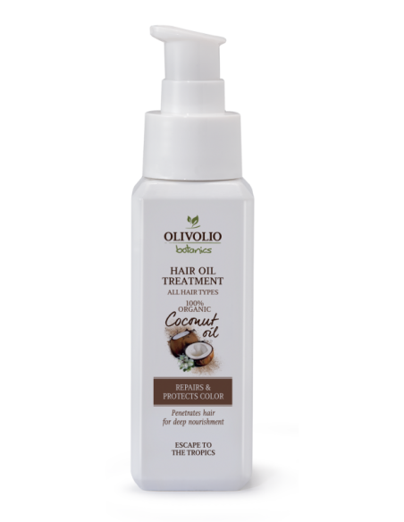 Olivolio Λάδι αναδόμησης & θρέψης Μαλλιών με Έλαιο Καρύδας 90ml