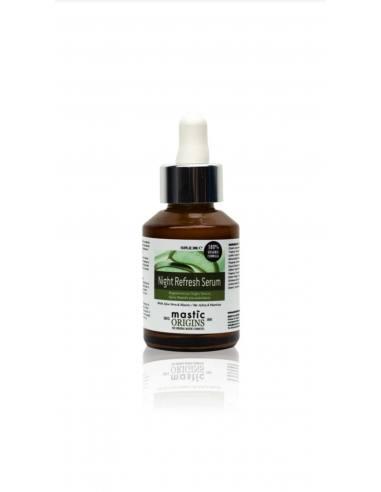 Mastic Origins Night Refresh Serum - Βραδινός ορός ανάπλασης και αναδόμησης