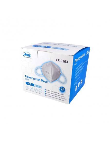 JINLU Μάσκα Υψηλής Προστασίας FFP2 – KN95 25 τμχ