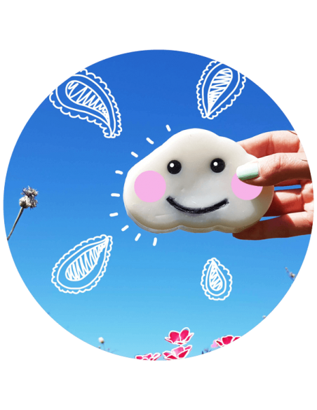 Bomb Cosmetics Once Upon A Cloud Shaped Soap 150gr