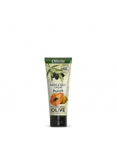 Olivin Κρέμα Χεριών με Παπάγια 75ml