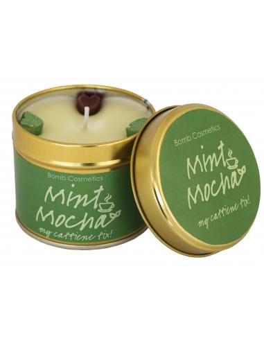 Bomb Cosmetics Mint Mocha Tinned Candle