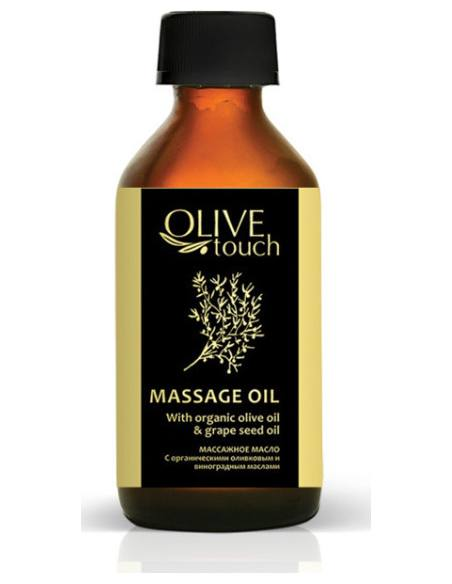 Olive Touch Λάδι Μασάζ Με Βιολογικό Λάδι Ελιάς & Λάδι Σταφυλιούml